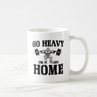 Go Heavy Or Go Home Weightlifting Coffee Mugs