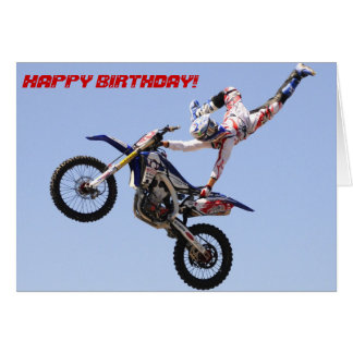Go High and don t look down birthday card
