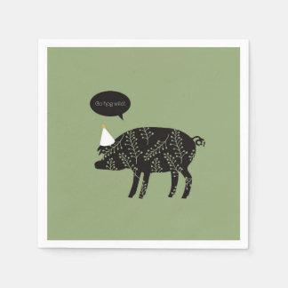 Go Hog Wild! napkins Paper Napkin