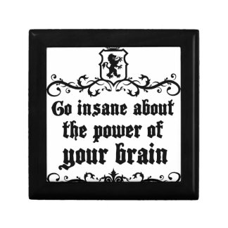 Go Insane About The Power Of Your Brain Gift Box