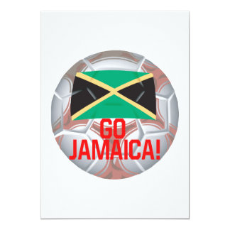 "Go Jamaica 5"" X 7"" Invitation Card"