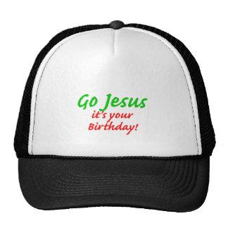 Go Jesus Christmas Shirt Cap