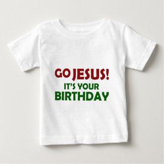 Go Jesus! Its Your Birthday Baby T-Shirt