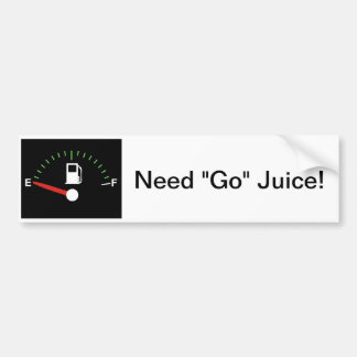 Go juice bumper sticker