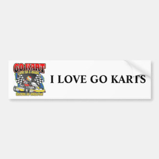 Go Kart Life Bumper Sticker