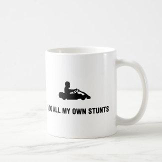 Go-Karting Basic White Mug