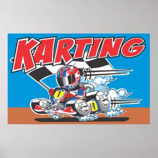 Go Karting Poster
