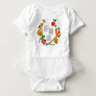Go Local RVA Farm Fresh Design Baby Baby Bodysuit