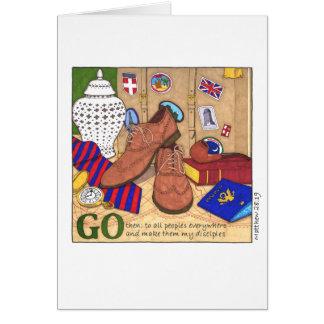 Go Make Disciples Birthday Card