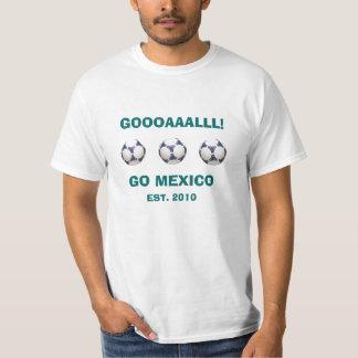 GO Mexico Soccer T-Shirt