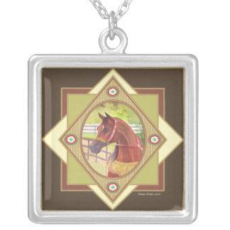 Go Native Arabian Horse Necklace