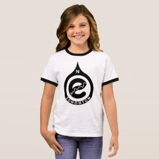 Go North Girls Ringer T-shirt