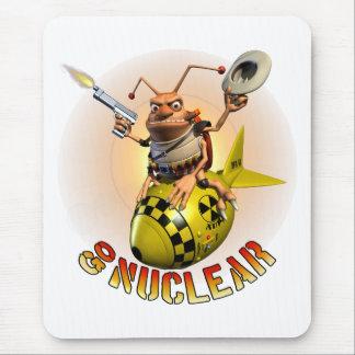 Go Nuclear Cockroach Style Mouse Pad