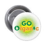 Go Organic 6 Cm Round Badge