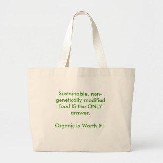 Go Organic Large Tote Bag