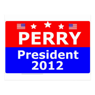 Go Perry 2012 Postcard