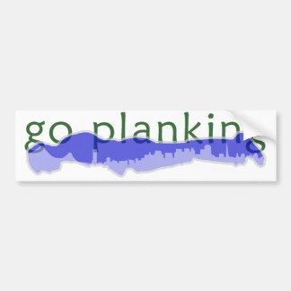 Go Planking in the City Bumper Sticker