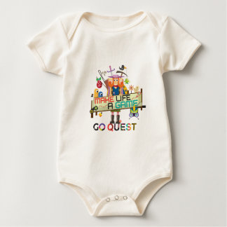 Go Quest Female Baby Bodysuit