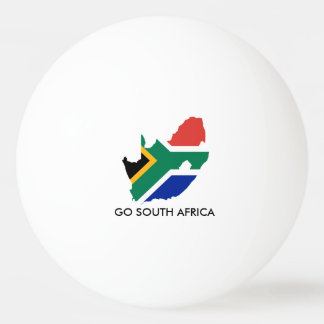 GO SOUTH AFRICA PING PONG BALL