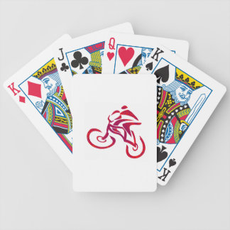 Go Speed racer go... Bicycle Playing Cards