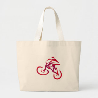 Go Speed racer go... Large Tote Bag