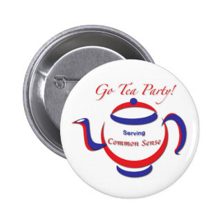 Go Tea Party! Button