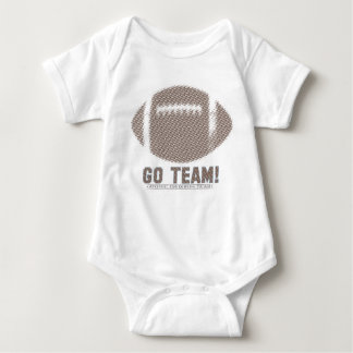 Go Team Brown Baby Bodysuit