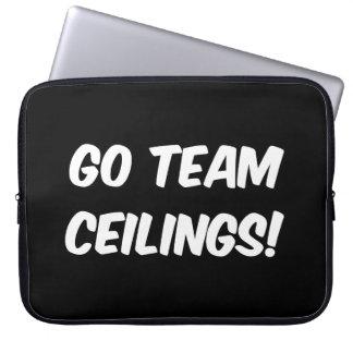 Go Team Ceilings Ultimate Fan Laptop Computer Sleeves
