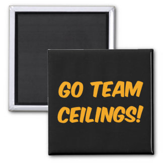 Go Team Ceilings Ultimate Fan Fridge Magnets