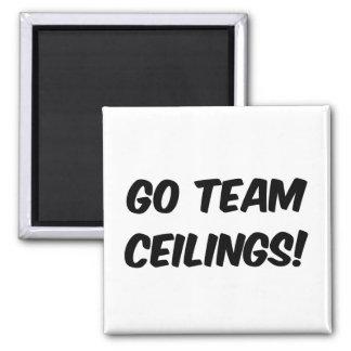 Go Team Ceilings Ultimate Fan Refrigerator Magnet