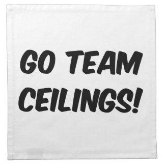 Go Team Ceilings Ultimate Fan Napkin