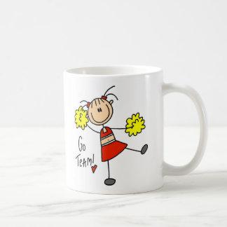 Go Team Cheerleader Mug