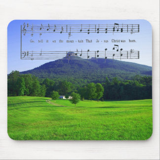 GO TELL IT ON THE MOUNTAIN-MOUSEPAD MOUSE PAD