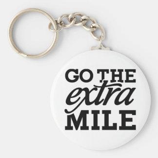 Go the extra Mile Keychain