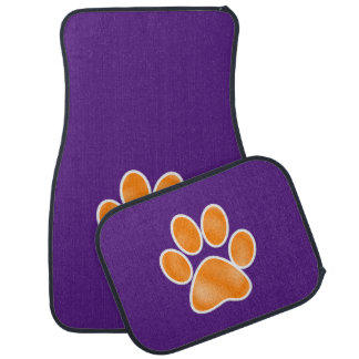 Go Tiger ... but not too fast! Car Mats