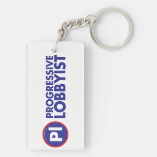 Go to Hades - Progressive Lobbyist Keychain