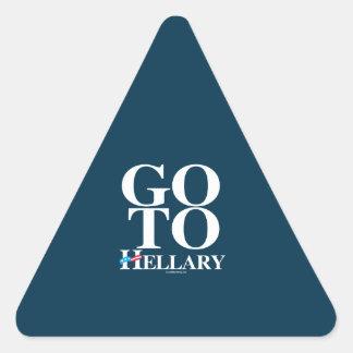Go To Hellary Sticker