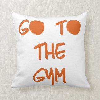 Go to the Gym Cushion