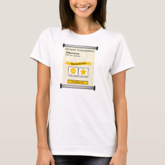 Go to Work Quest Complete Women's T-Shirt