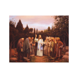 Go Unto All The World Canvas Print