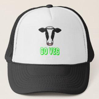 Go Veg ©  Logo Trucker Hat