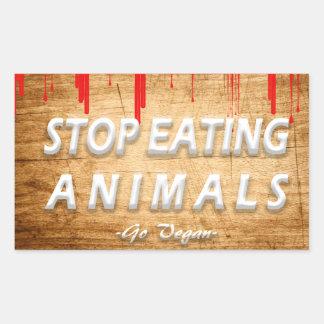 Go Vegan | Activism Stickers | Save the Planet