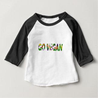 Go vegan baby T-Shirt