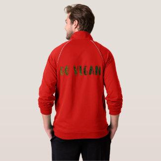 Go Vegan! Men's California Fleece Track Jacket