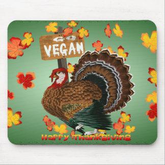 Go Vegan! Thanksgiving-Mousepad Mouse Pad
