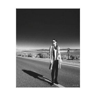 Go West~by Jacqueline Kruse Canvas Print