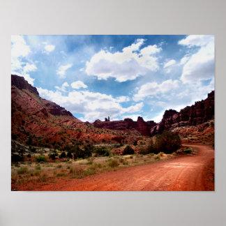 Go West II - Moab, Utah Poster