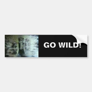 GO WILD! BUMPER STICKER