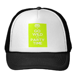 go wild its party time cap