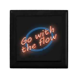 Go with the flow. gift box